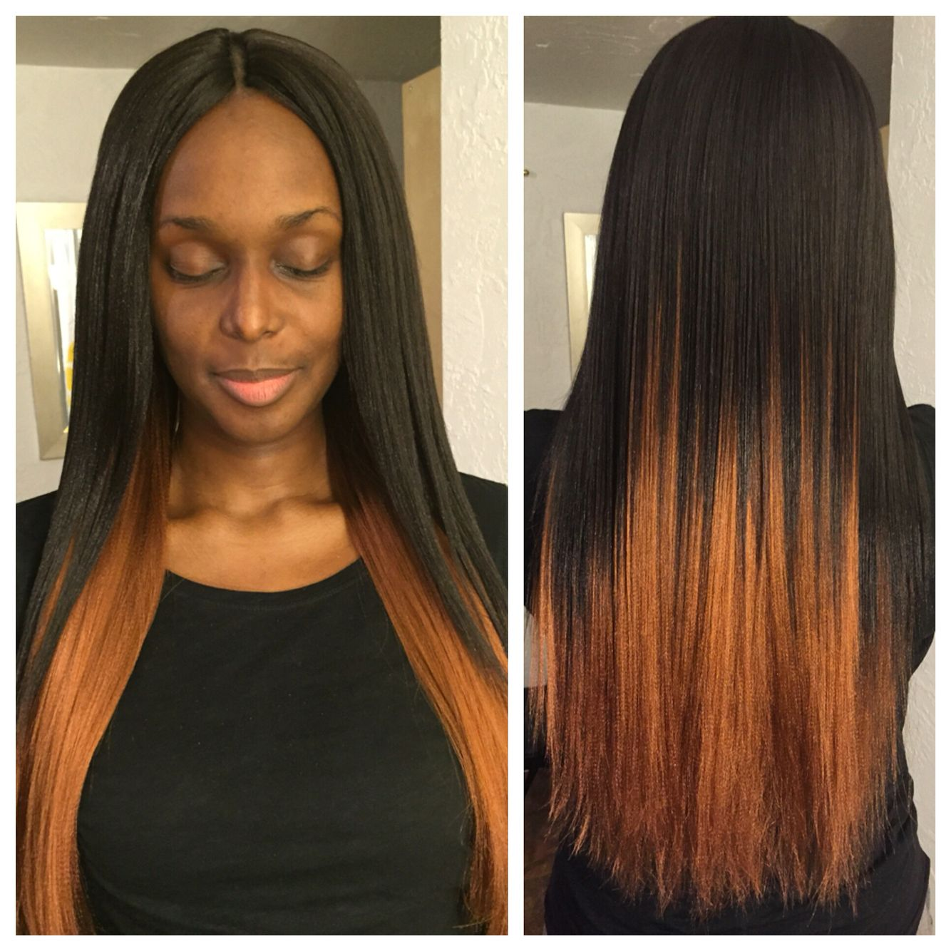 Invisible Part Crochet Braids With Bijoux Xpression Hair