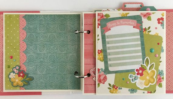 Sale Mini Album Kit Or Premade Scrapbook Album Gift By Artsyalbums
