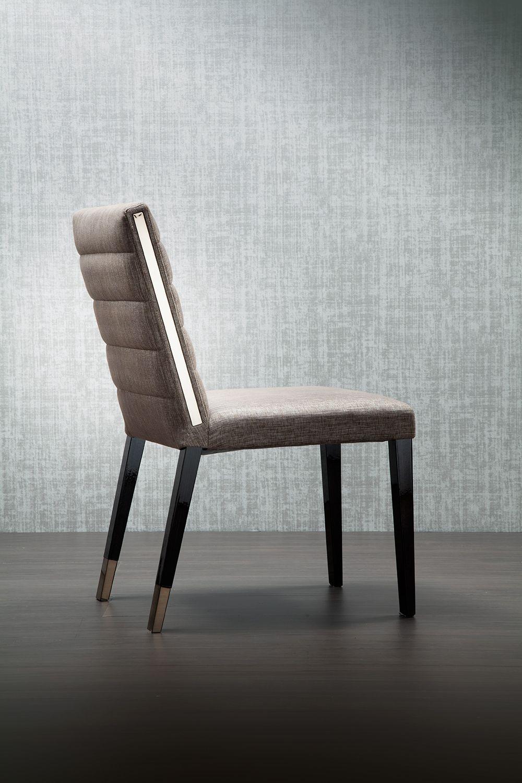 Aston Chair Luxury Italian Upholstered Chair Italian Designer Luxury Furniture At Cas Transitional Dining Chairs Italian Furniture Luxury Italian Furniture