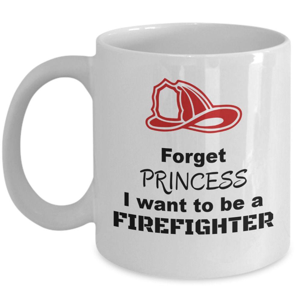 Lady firefighters mug princess be firefighter