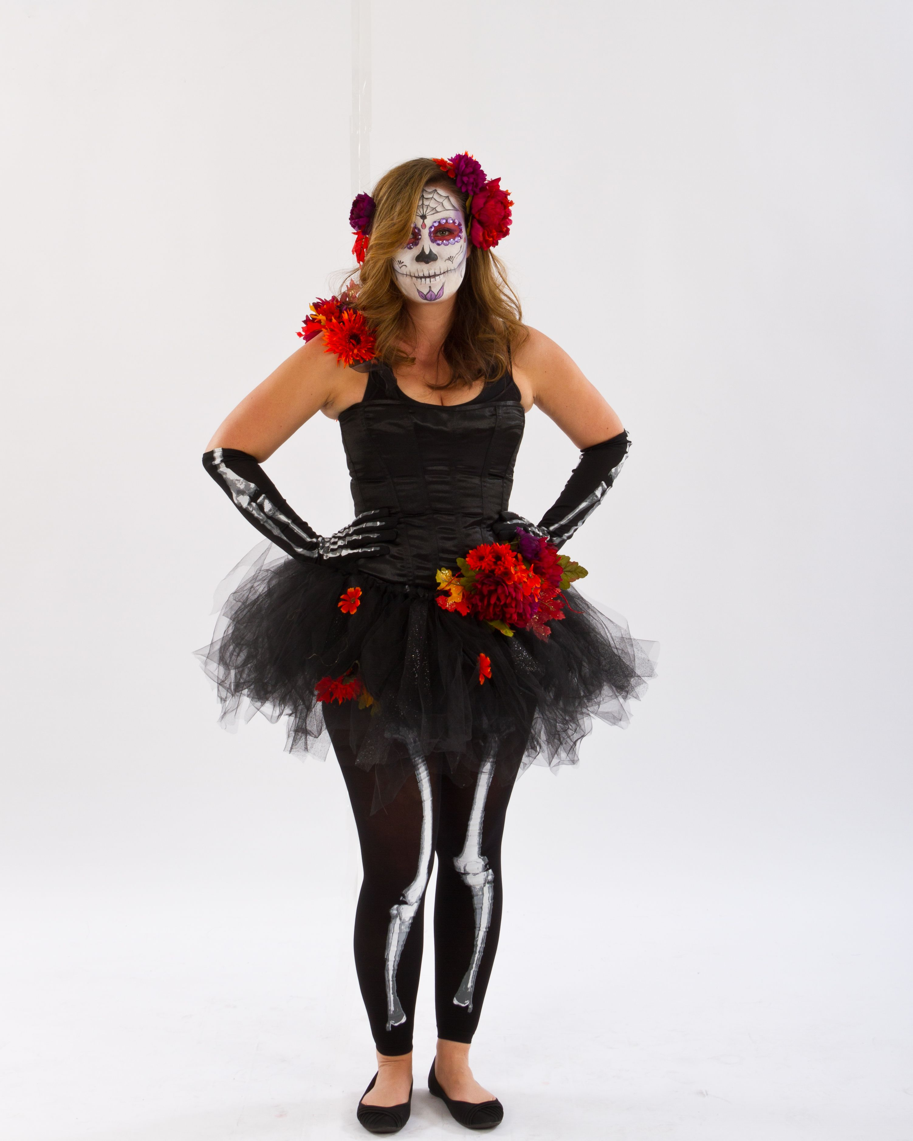 to-die-for diy day of the dead costume  starting with mix & match