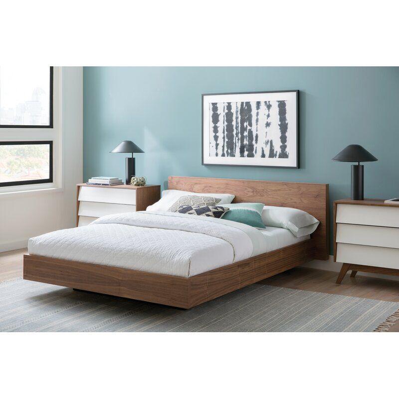 Adley Platform Bed Reviews Allmodern In 2020 Modern Platform