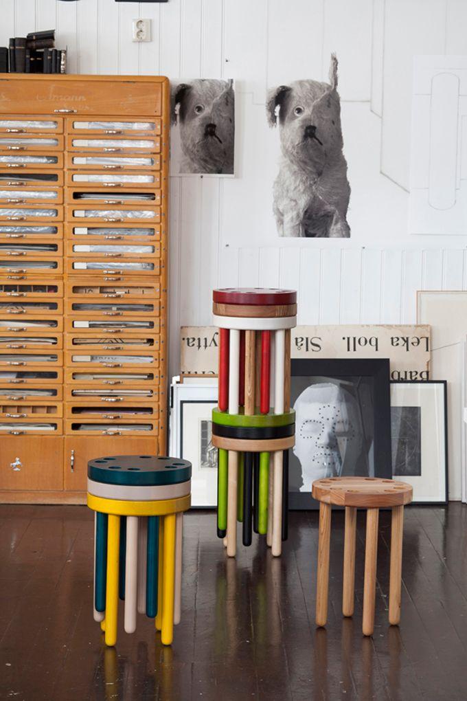 Poke stacking stools Guest Suite Pinterest - kleine bar furs wohnzimmer