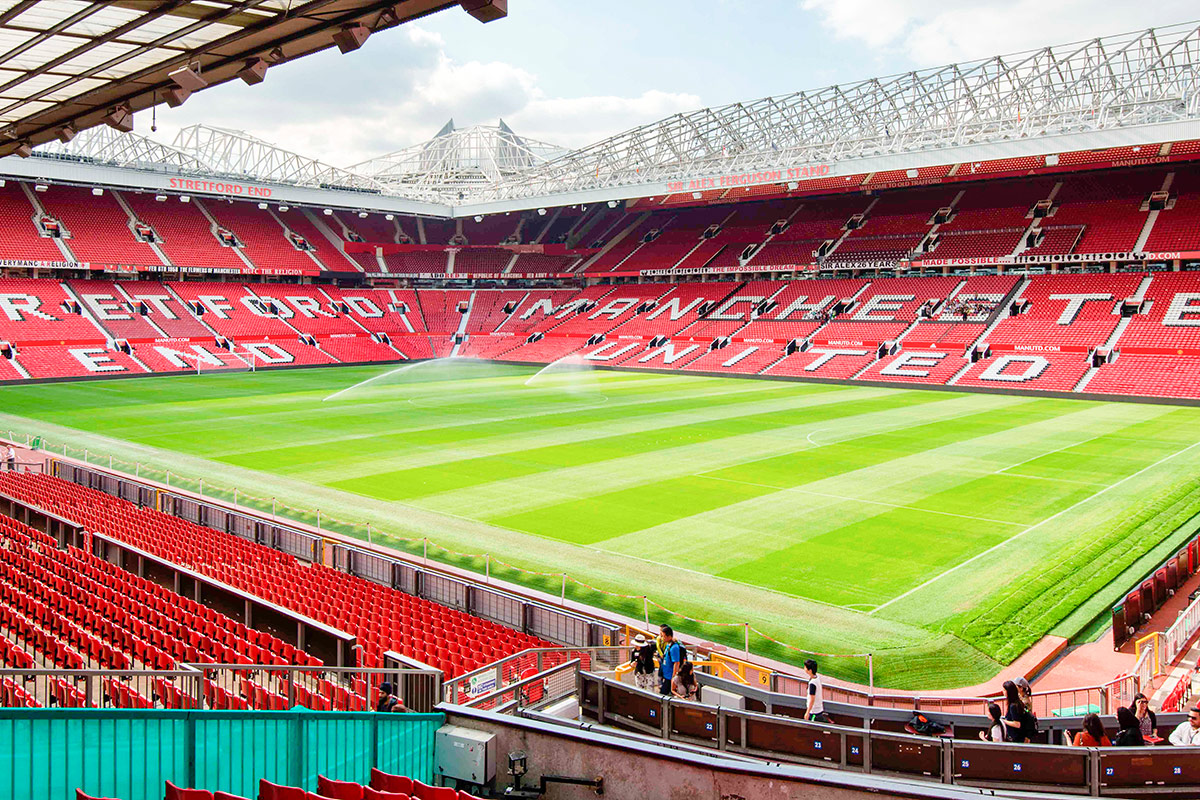 Manchester United Football Club Stadium Tour With Meal In The Red Cafe For Two