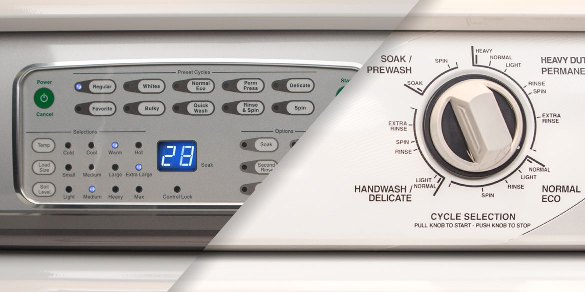For A New Sd Queen Washer And Dryer To Tackle Those Laundry Loads The Type Of Controls You Choose Either Electronic Or Mechanical Is Important
