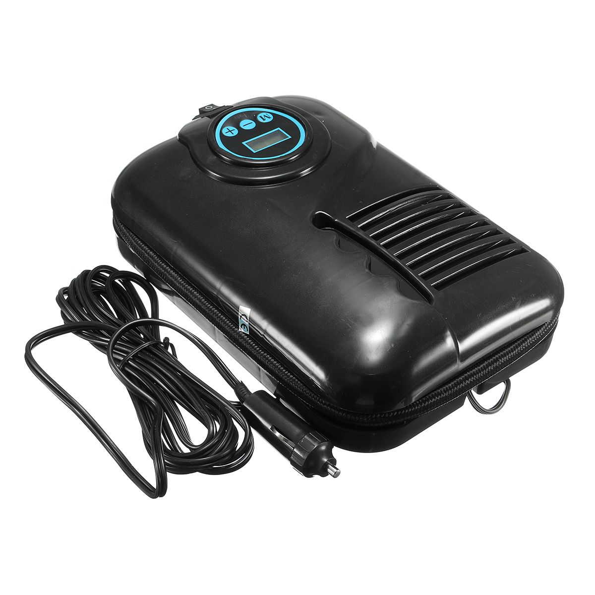 Mini Portable Multifunction Digital Electric Tyre Pump 12V