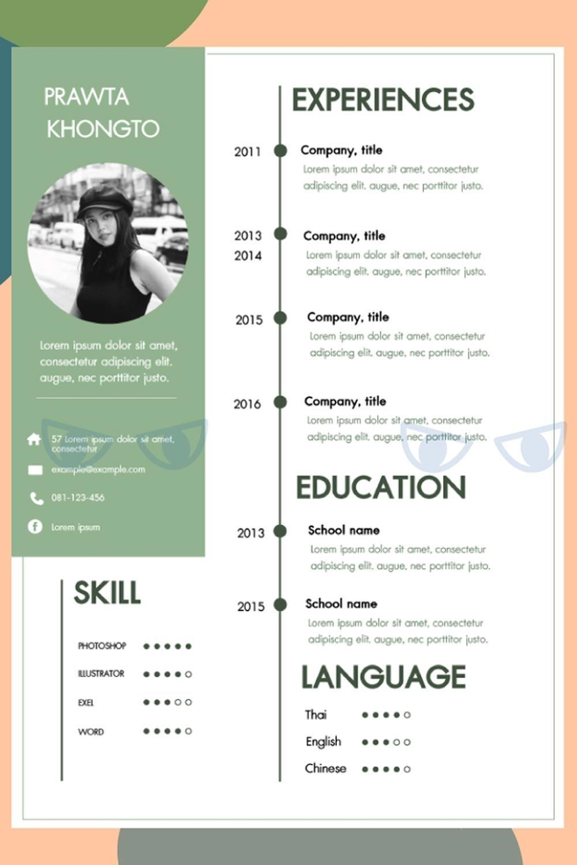 Graphic Design Job Discover รบทำ Portfolio Resume โดยดไซนเนอรมออาชพ เรมตน 500 Fastwork Co รบทำ Portfolio รบทำ Resume ชวย Di 2020 Desain Resume Cv Kreatif Desain Cv