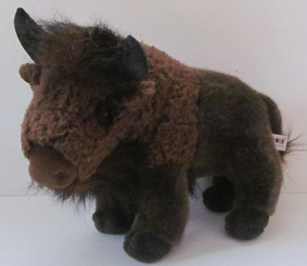 Aurora Buffalo Plush Bison 16 Stuffed Animal Toy Cute Stuff I M