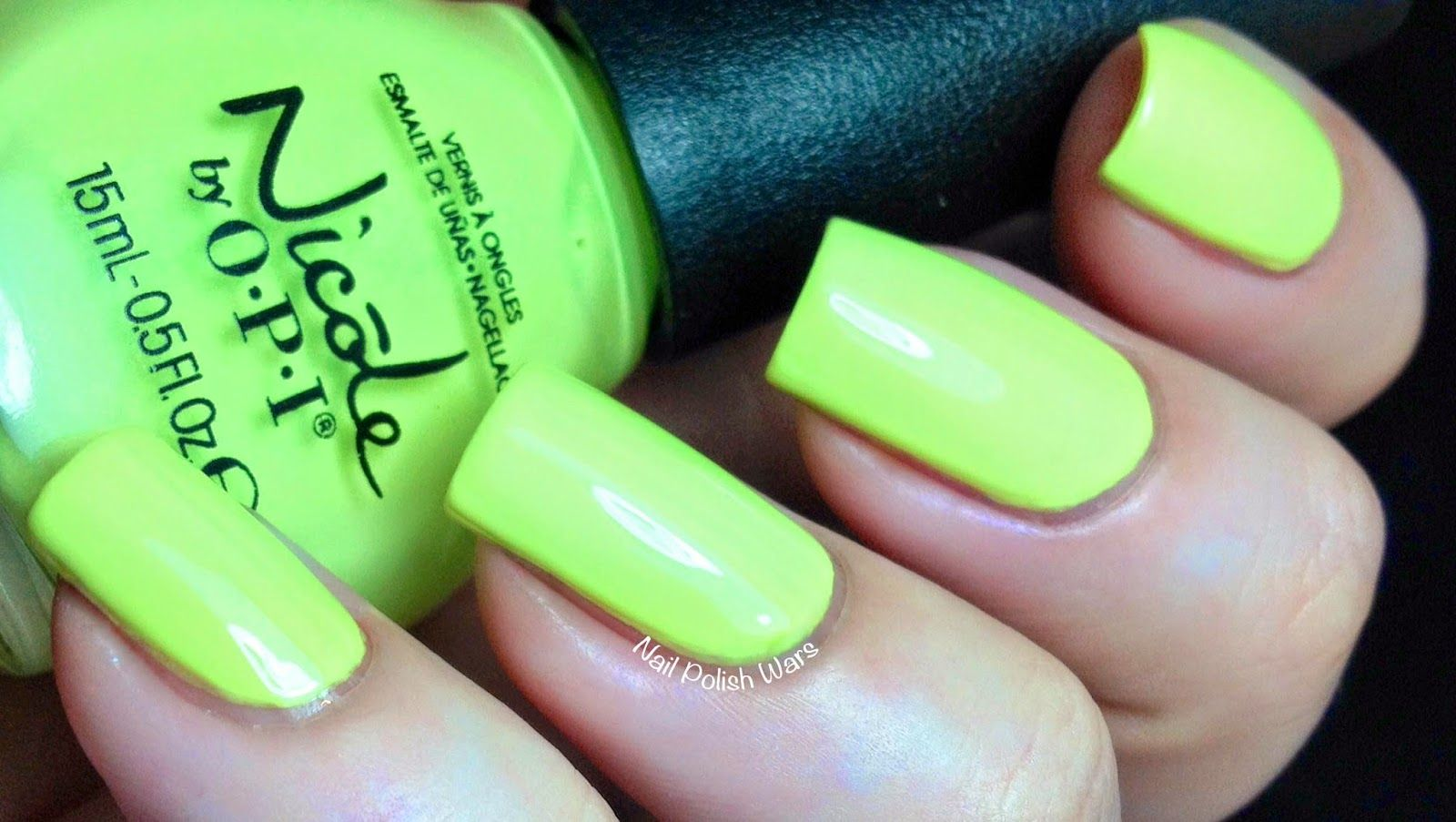 Lay it on the lime - Nicole by OPI Seize the Summer Collection ...