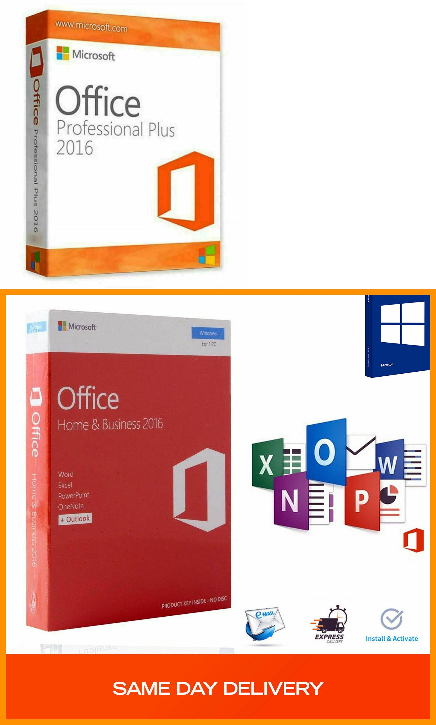 ms office professional plus 2016 vs office 365