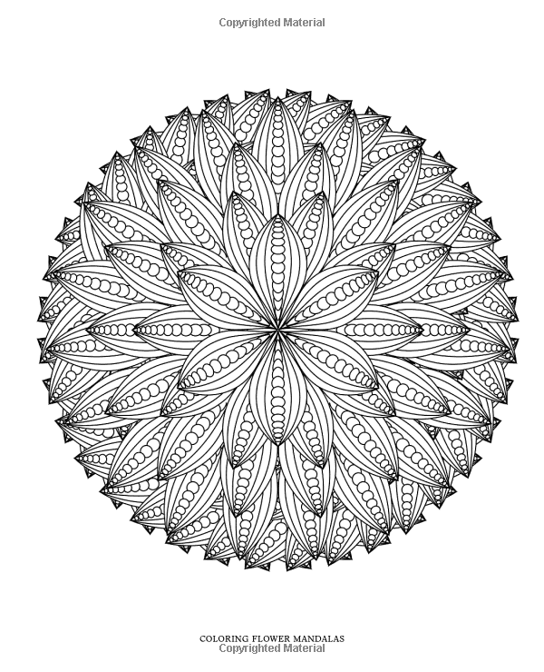 Advanced Mandala Coloring Pages Online