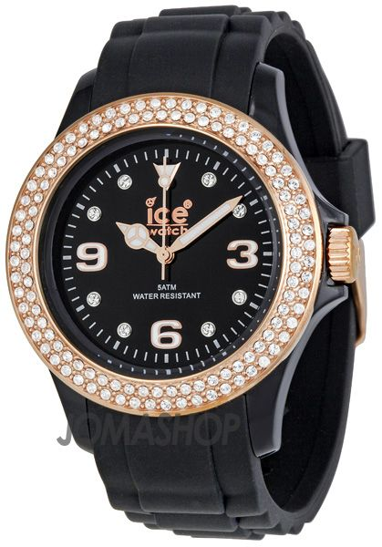 Ice Watch Swarovski Elements in Black/Rose Gold. (Purchased) | Ice ...