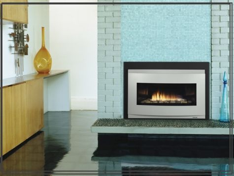 Contemporary Gas Insert Miller Stove Amp Fireplace Indoor Gas Fireplace Fireplace Inserts Gas Fireplace Insert