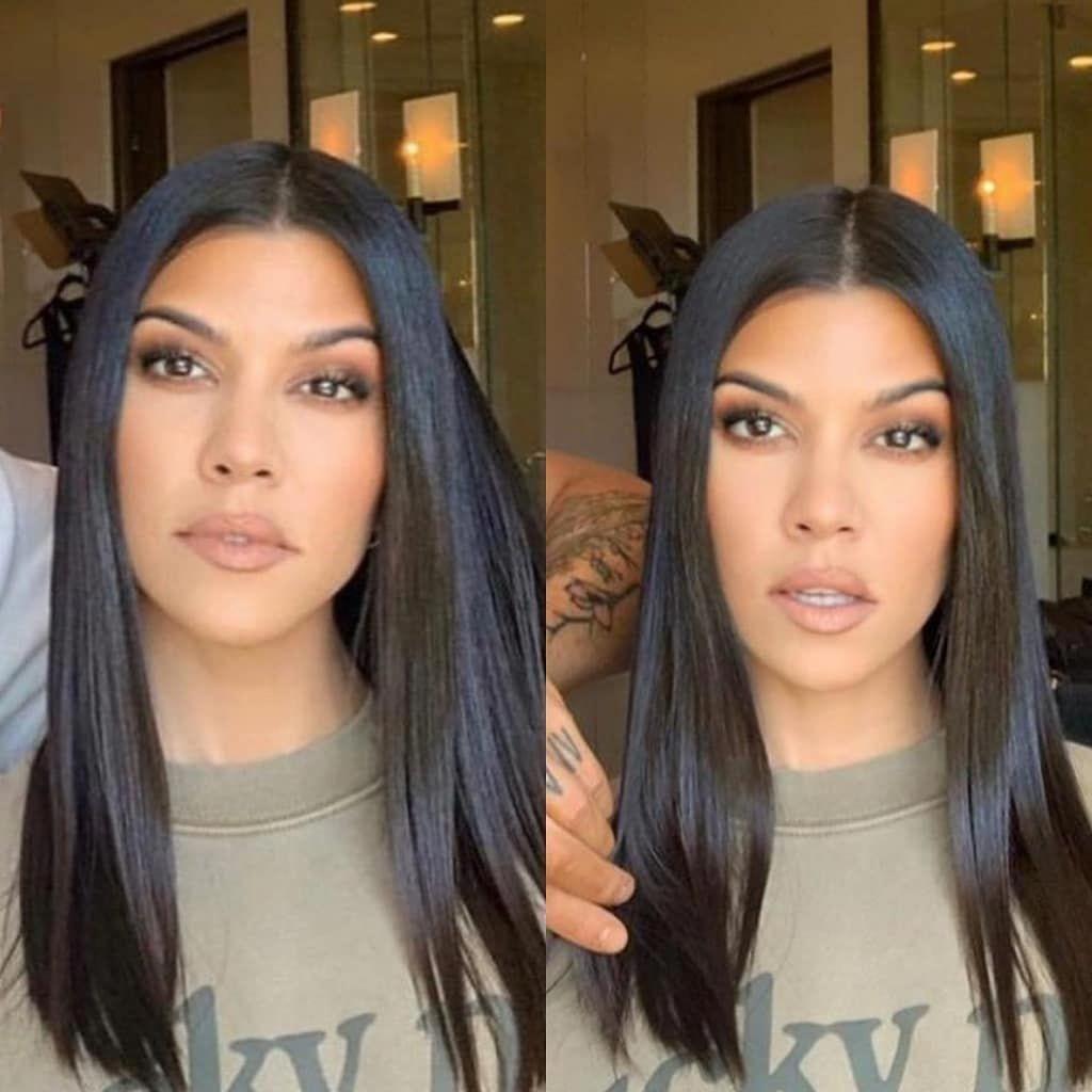 Pin By Gwgw On Mallia Kai Omorfia In 2020 Kourtney Kardashian Hair Kardashian Hair Hair Beauty