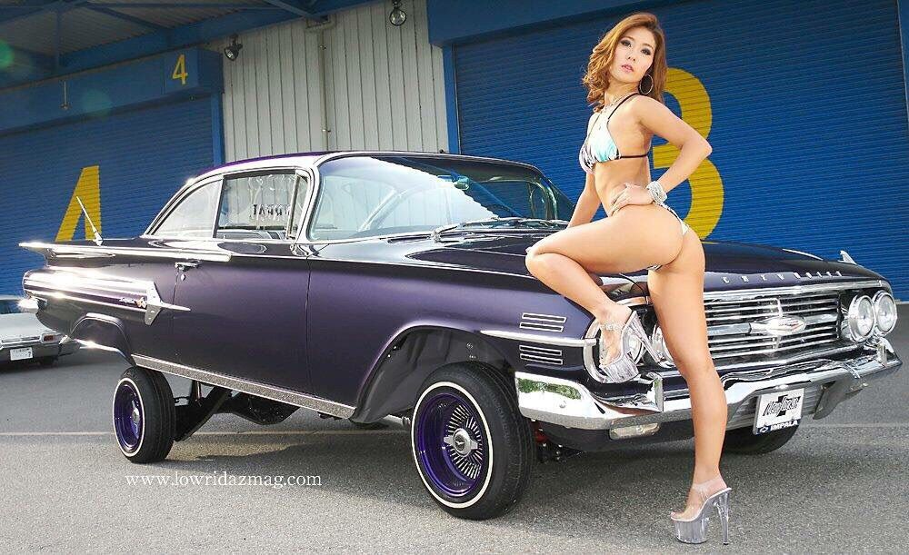 Pin By J L S On Lowrider Babes Pinterest Car Girls