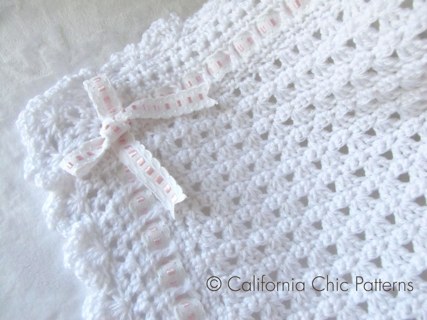 Crochet baby blanket pattern 41 angel series by calichicpatterns crochet baby blanket pattern 41 angel series by calichicpatterns 450 bankloansurffo Gallery