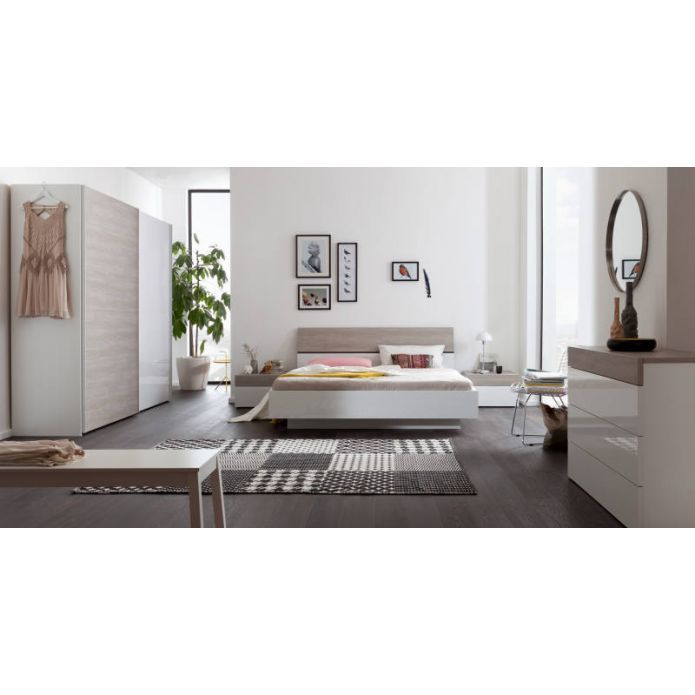 Modern und praktisch u2013 so präsentiert sich Schlafzimmer Serie - schlafzimmer queen