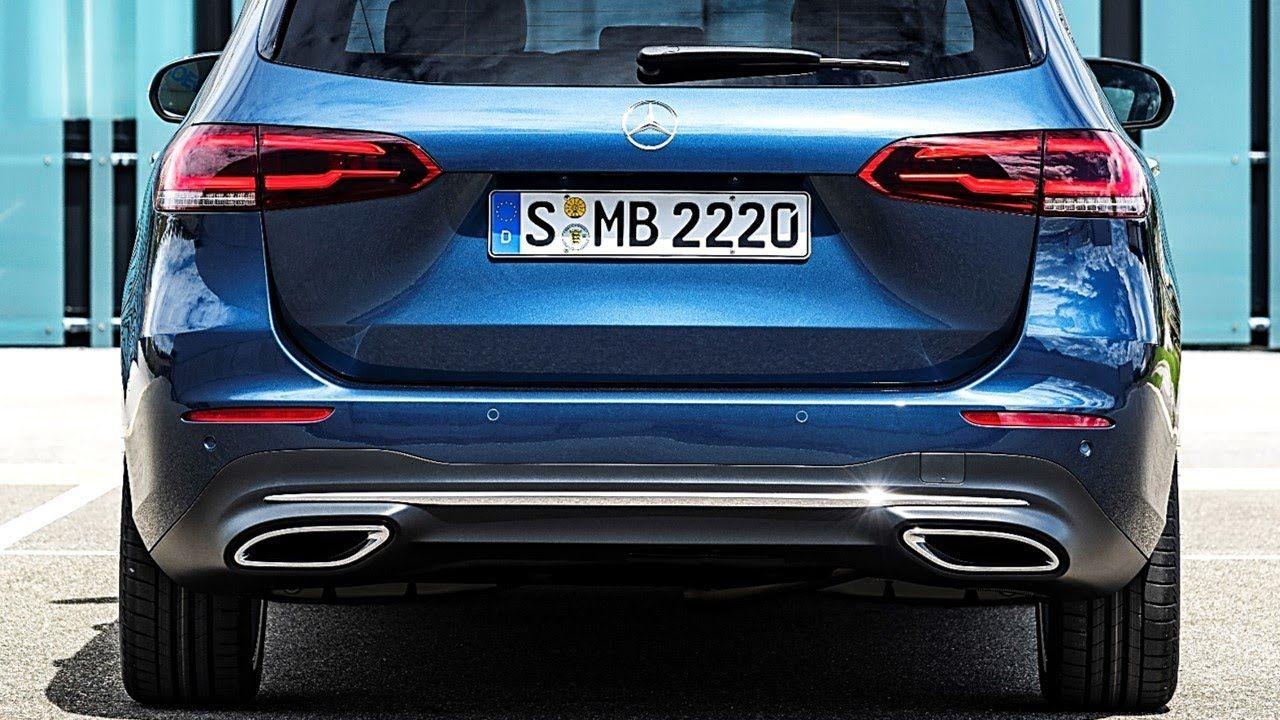2019 Mercedes Benz B Class Mpv Cars Technology Mpv Travel