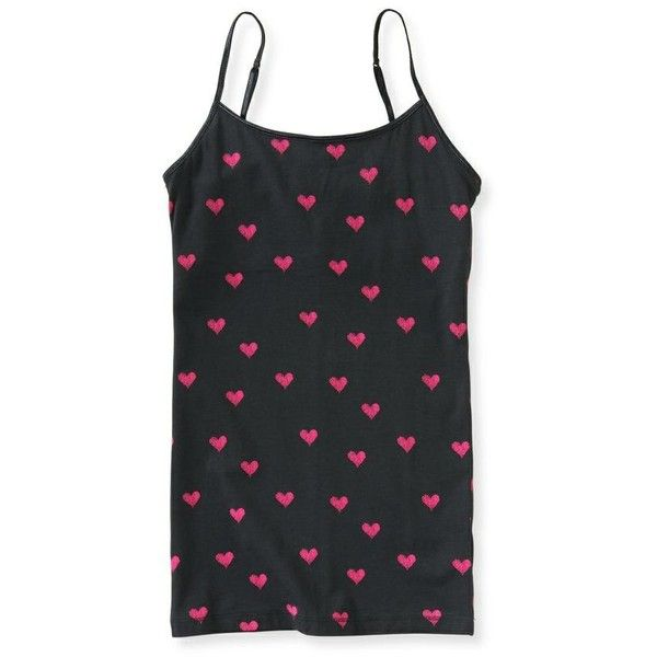 Heart Cami found on Polyvore