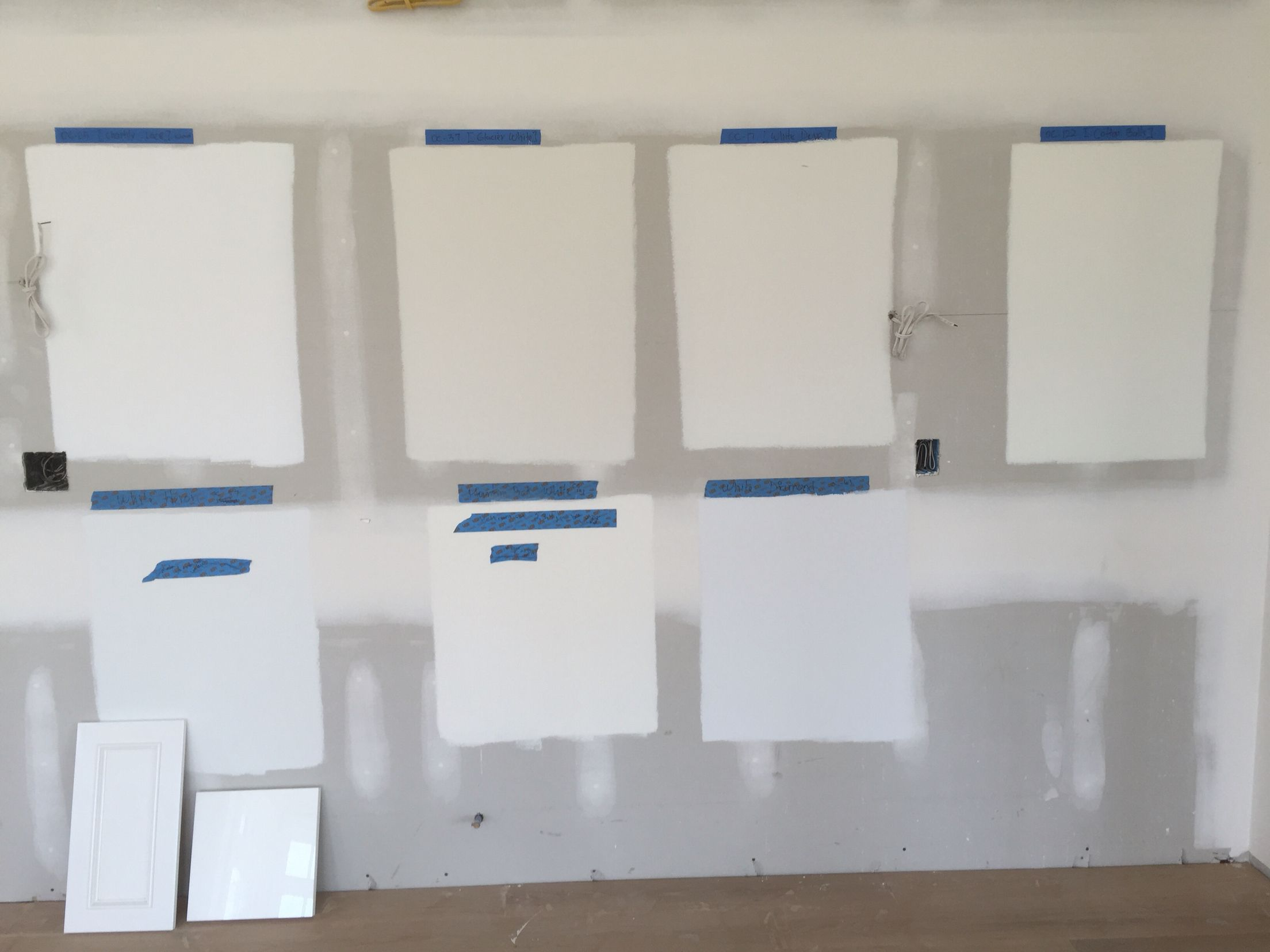 Best Top Row Left To Right Benjamin Moore Chantilly Lace 400 x 300