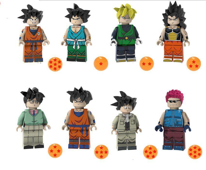 Raditz Son Goku Gohan Minifigures Compatible Lego Toy Dragon Ball Set Lego Dragon Dragon Toys Goku And Gohan