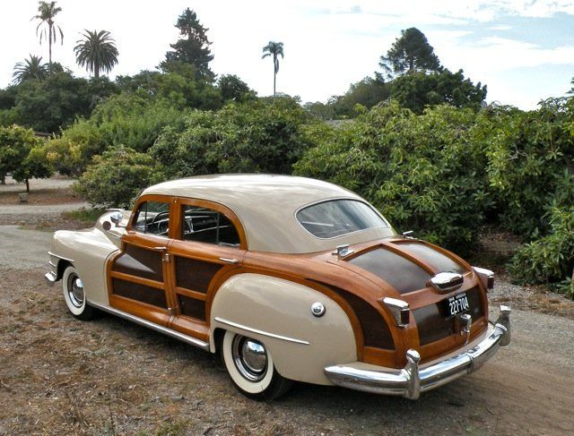 1948 Chrysler Town & Country for sale – Classic car ad from CollectionCar.com.