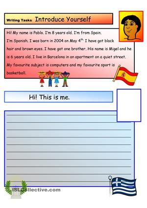 Write About Yourself: Fun Activities!