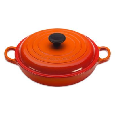 Le Creuset Signature Cast Iron Braiser Bed Bath Beyond Le Creuset Creuset Le Creuset Cast Iron