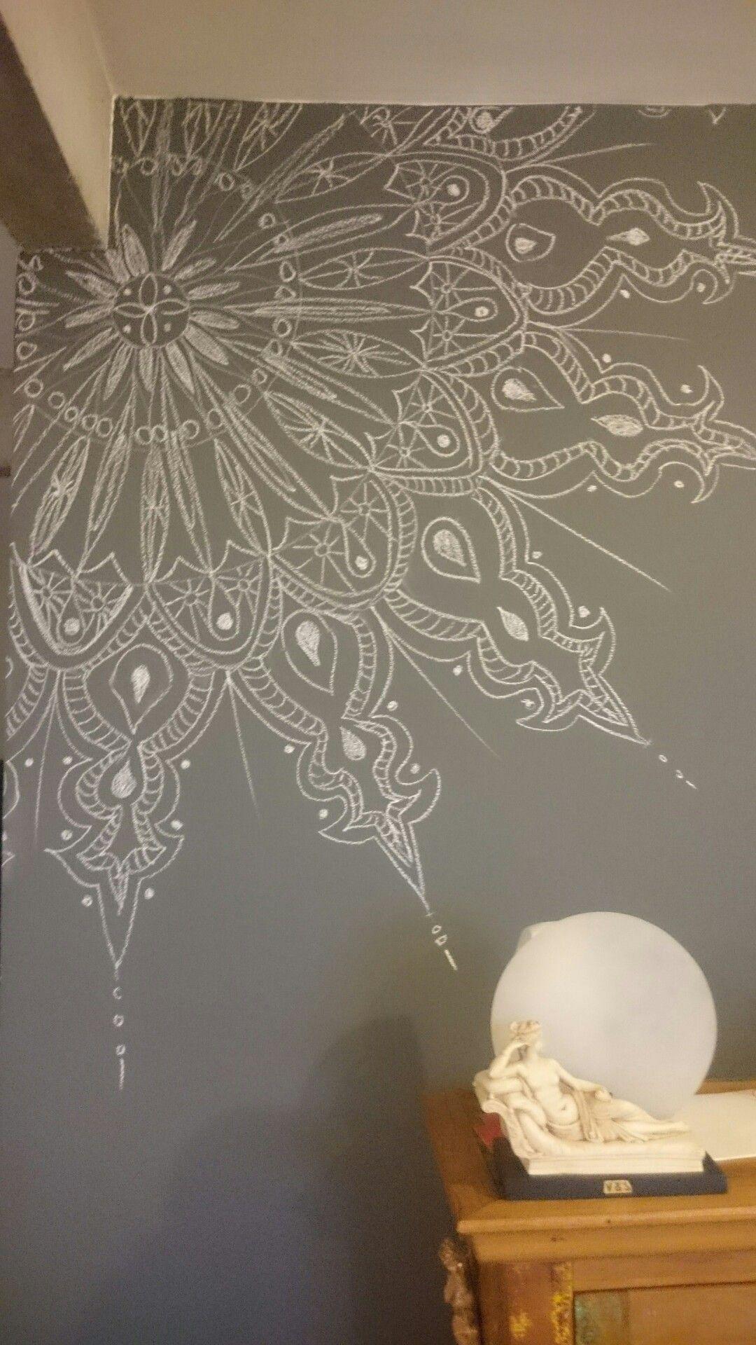 Corner By My White Board Chalkboard Wall Art Bedroom Wall Art Wall Murals Painted