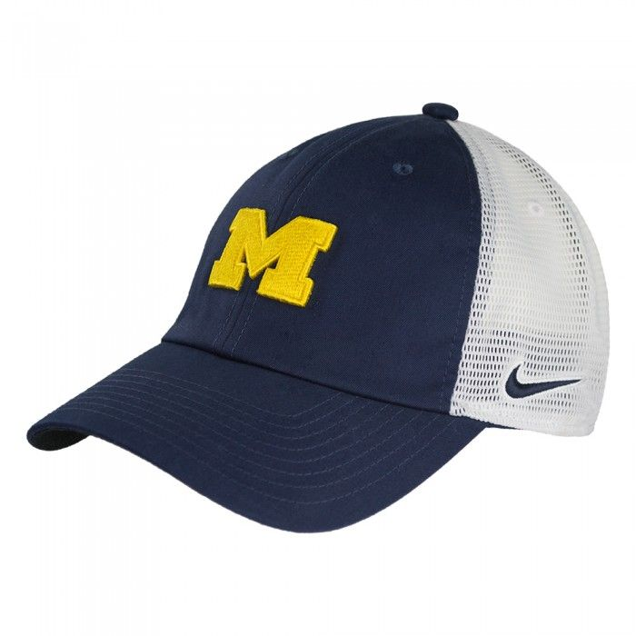 new products db9a3 cb00a University of Michigan 2017 Nike H86 Trucker Hat At Campus Den