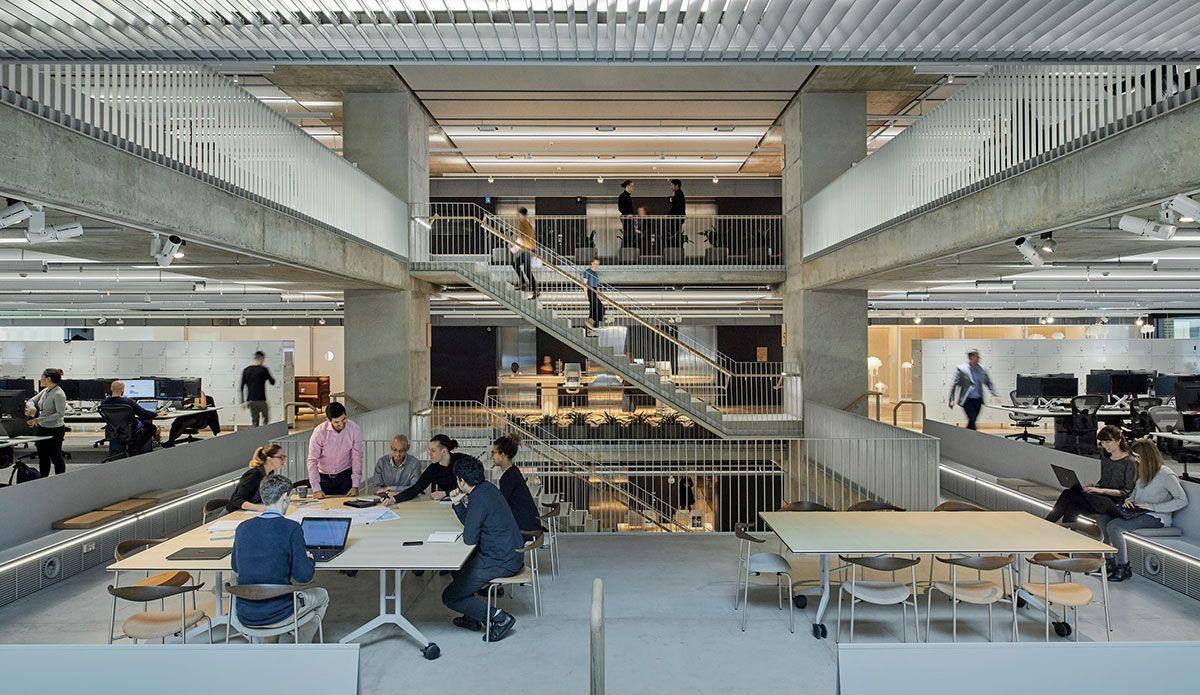 Junior To Intermediate Designer Workplace Interiors Nyc