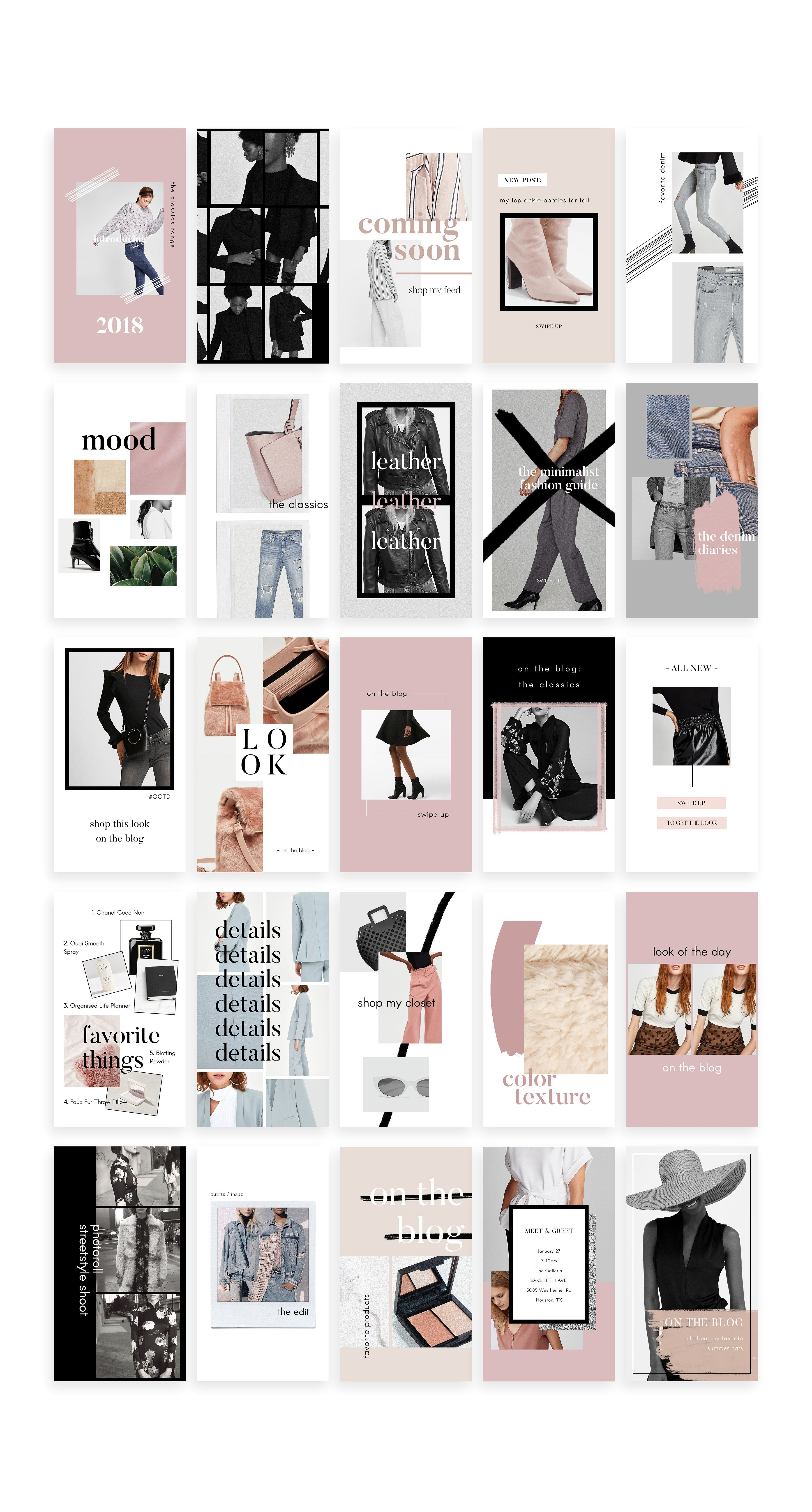 Animated Instagram Stories Pack by Design Love Shop on