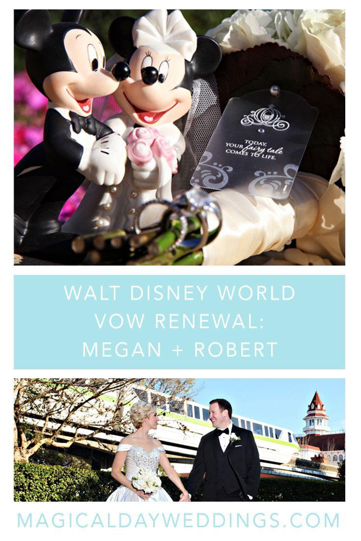 invitations wedding renewal vows ceremony%0A Walt Disney World Vow Renewal Megan   Robert