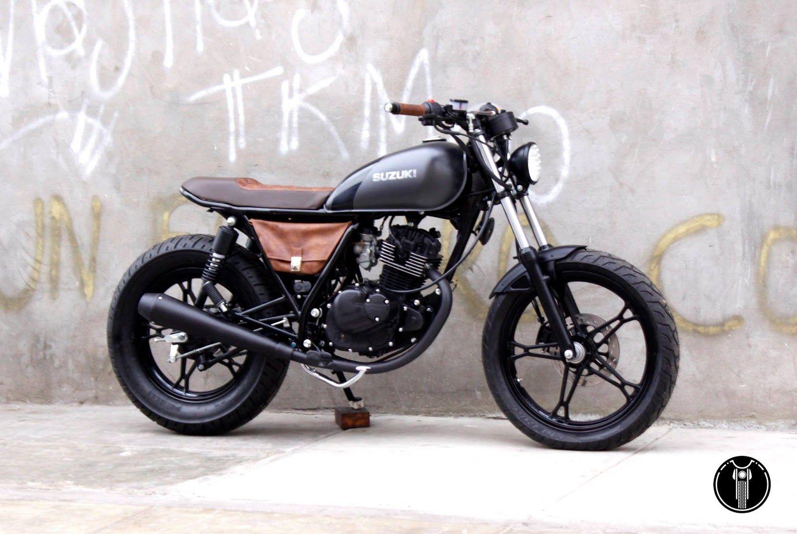 intruder 125 by solo fierros garage garagem cafe racer cars motorcycles suzuki cafe. Black Bedroom Furniture Sets. Home Design Ideas