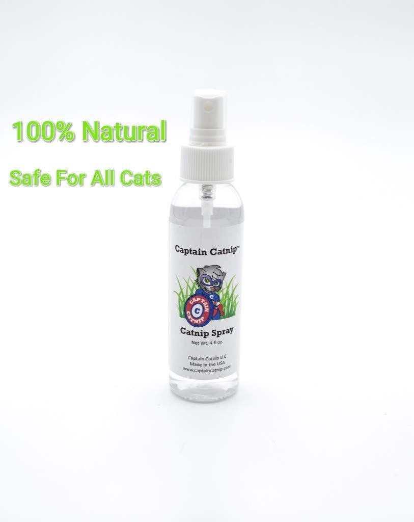 Captain Catnip Organic Liquid Fresh Extract Spray for Cats