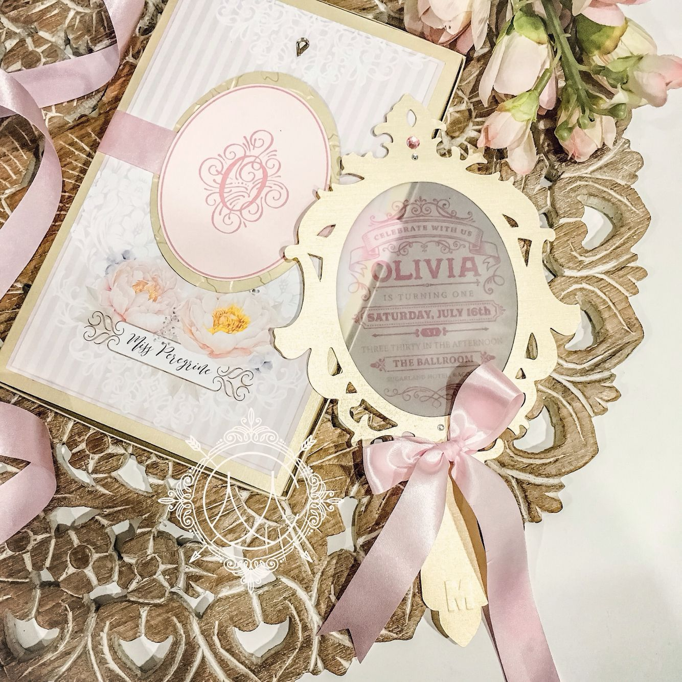 Because Every Girl Deserves Her Own Fairytale Party Invitations