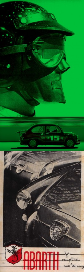 Vintage Abarth Poster