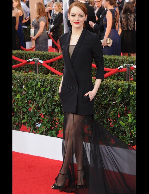 Emma Stone aux SAG Awards