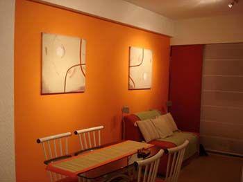 sala3.jpg (350×263)   mandarina   pinterest   el portal ... - Pintura Para Salas De Piel