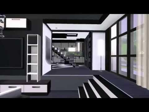 The Sims 3 - Building a Modern House - High-Hill-House - - YouTube ...