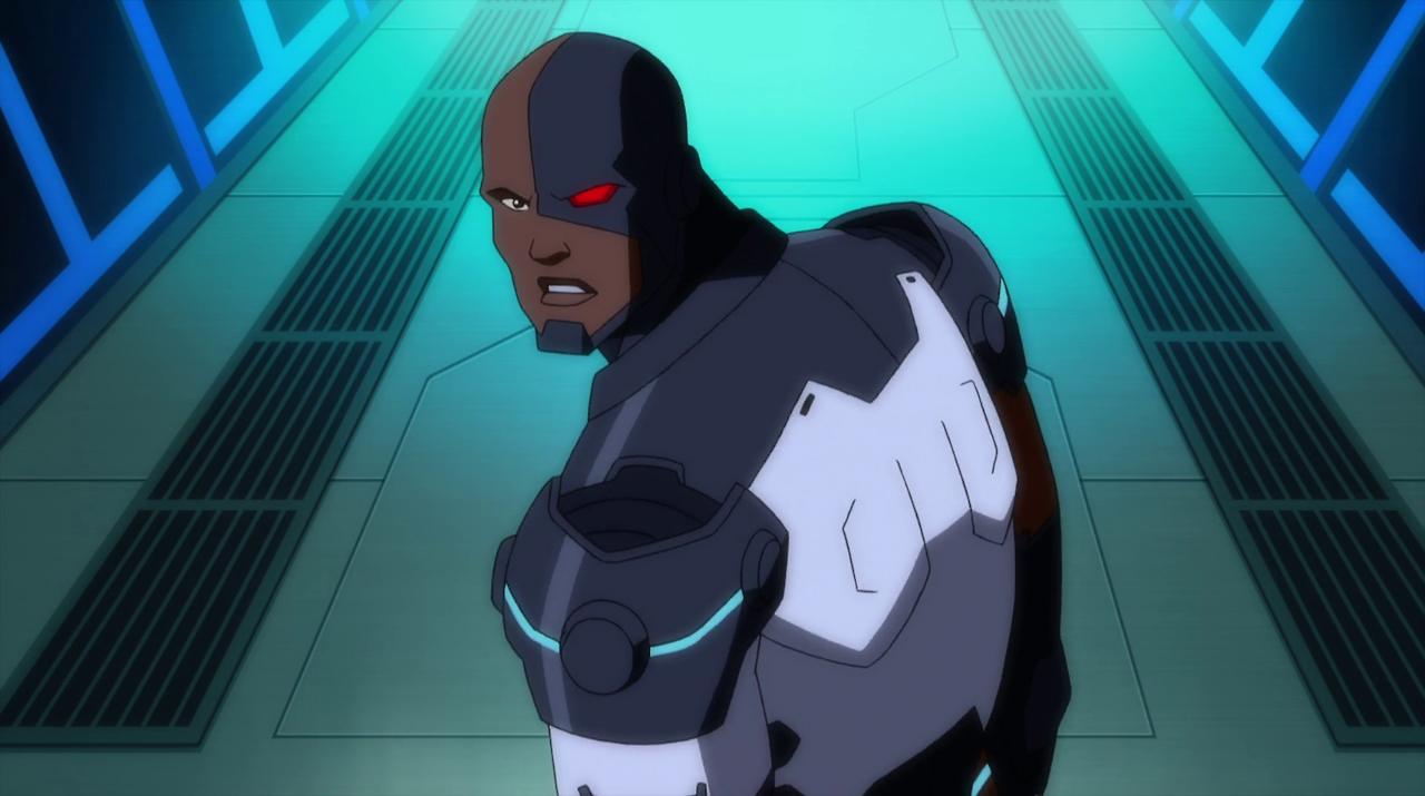 Justice League Doom Cyborg Justice League Justice League Doom Cyborg