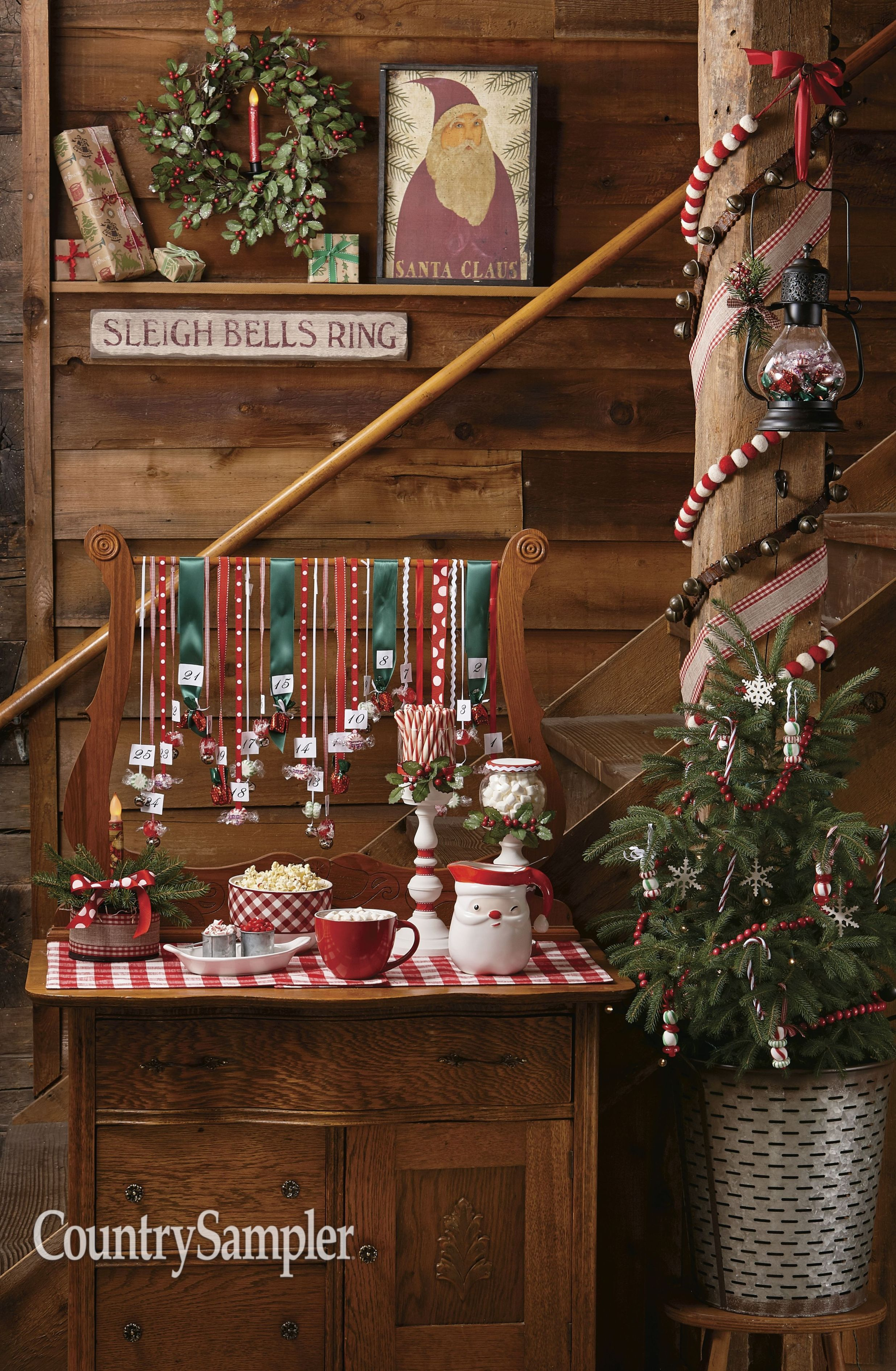 Gather Tons Of Sweet Decorating Ideas From The Country Sampler