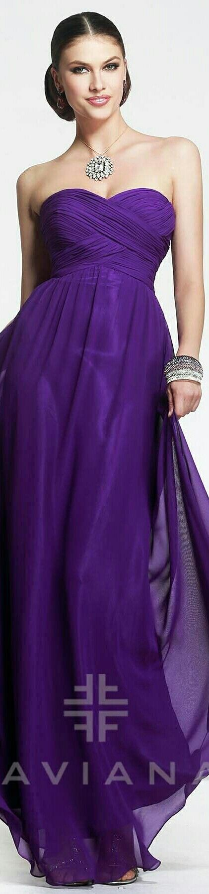❤🌷FAVIANA 🌷Evening/Prom Gown in Purple 🌷#7338🌷❤