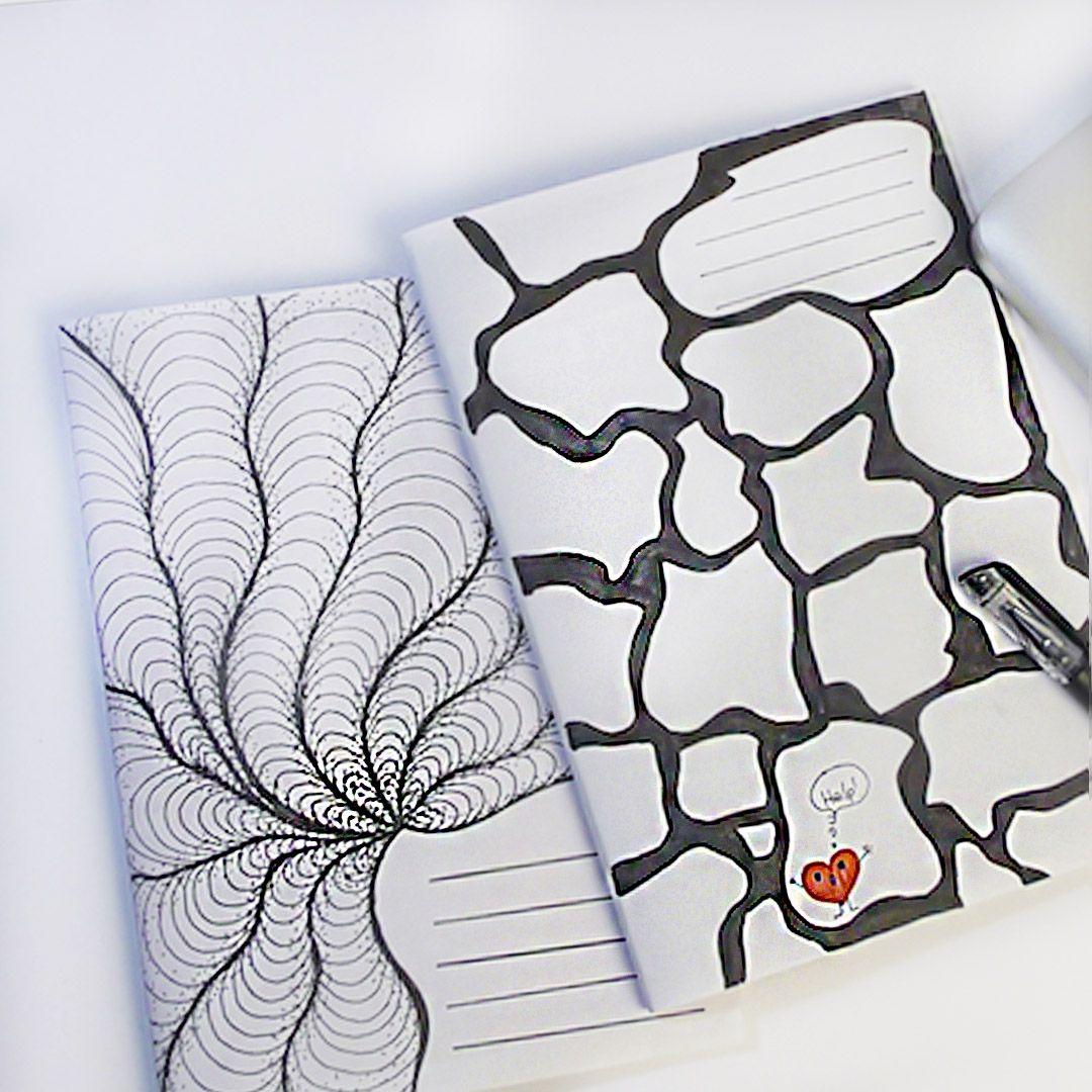 Прикольные рисунки на обложке тетради своими руками