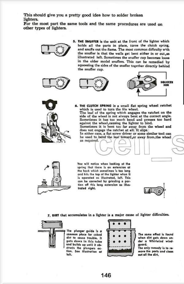 1954 Cigarette Lighter Repair Manual | How To Do & Where To Get