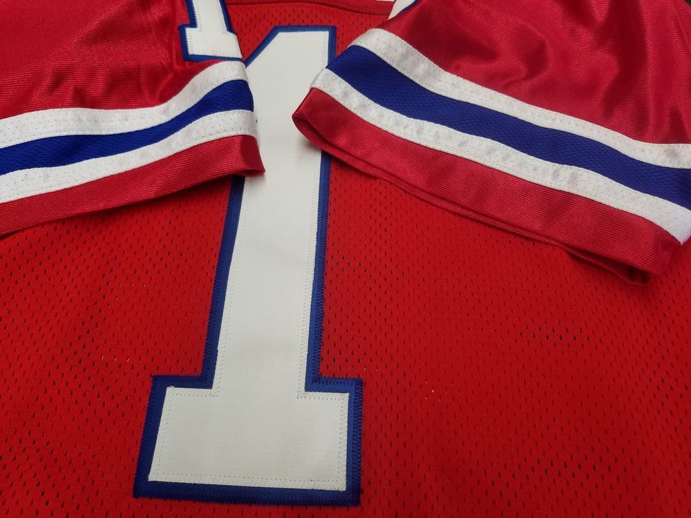 00 New England Custom Football Jersey.Your Name   Number sewn on. (eBay  Link) f24bec6ae