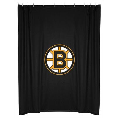 Sports Coverage Boston Bruins Shower Curtain For A Boys