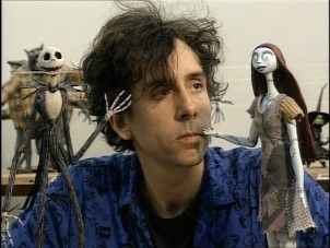 Nightmare Before Christmas Dolls with Tim Burton