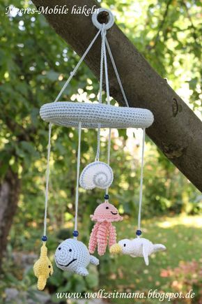 Häkeln Für Kinder Mobile Mit Meerestieren Amigurumi Crochet