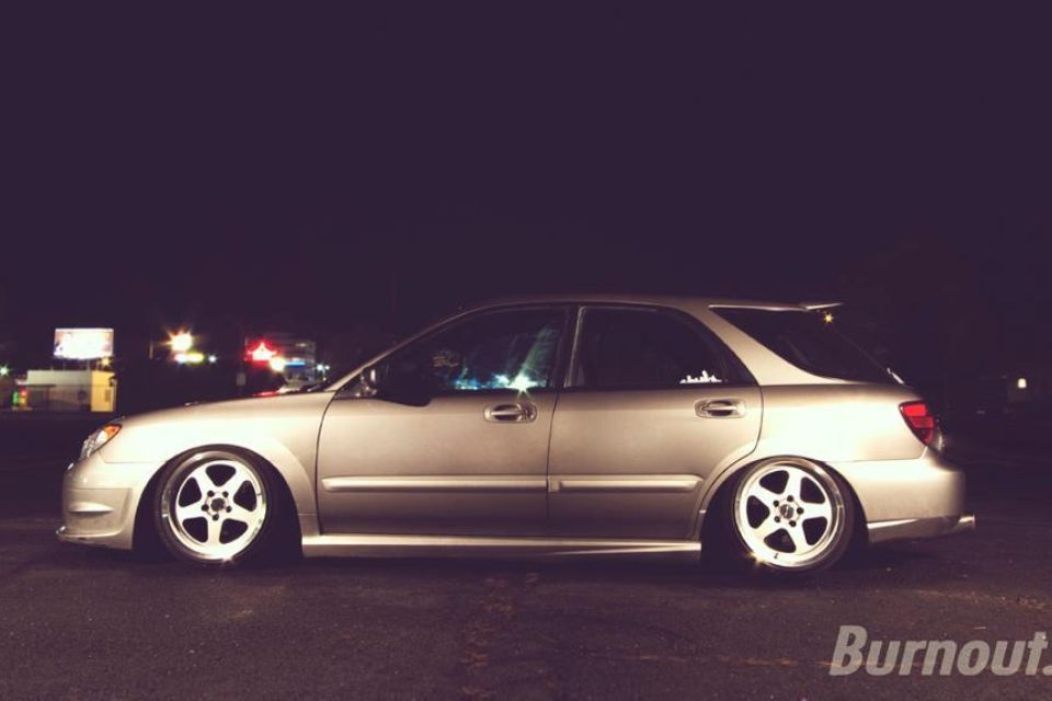 Subaru Wrx Wagon 06 07 Slammed Lowered Sc Rep Wheels Wrx Subaru Wagon